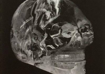 Erwin Blumenfeld - Crâne de cristal