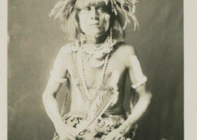 Curtis - Honovi - Walpi Snake Priest