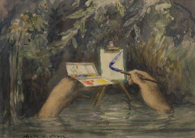 Olivier O. Olivier - L'Aquarelle