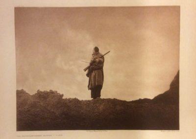 Edward S. Curtis - The Mountain Sheep Hunter - Sioux