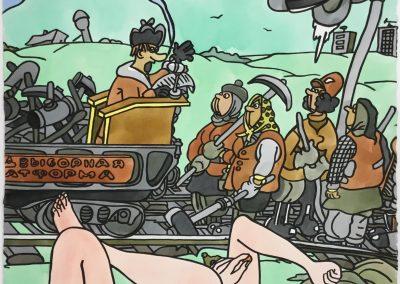 Les femmes du chemin de fer, 1991
