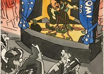 Théâtre d'avant-garde, 1991